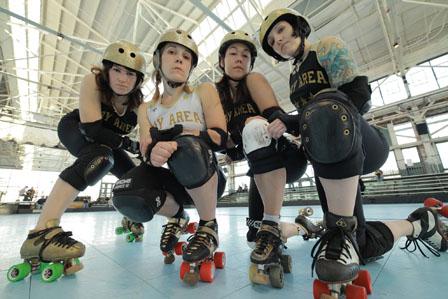 Roller Derby Chicks