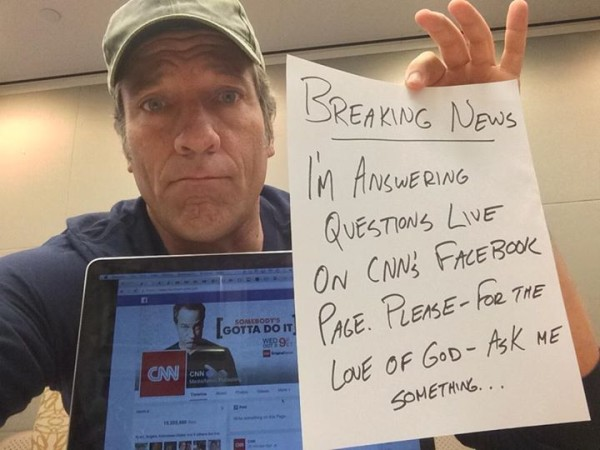 Live Q&A Mike Rowe on CNN