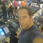 Mike Rowe at the Gym