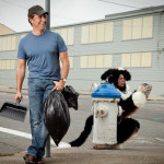 Mike Rowe and Puppy Chuck