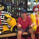Mike Rowe, Hamburgler, Ronald McDonald