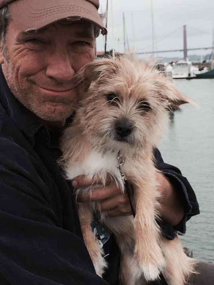 Mike Rowe and Freddy