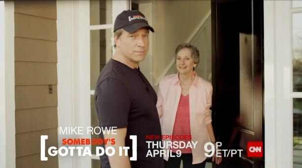 Mike Rowe Peggy Rowe CNN Promo