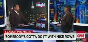 Don Lemon - Mike Rowe - CNN-SGDI
