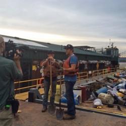 Mike's Blog - SGDI - River Clean Up - Big Gulp 3