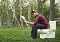 mike rowe - clockwork - toilet