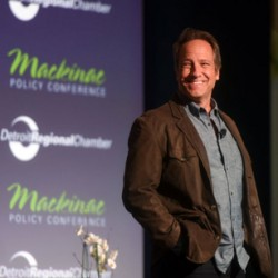 featured photo - mike at Mackinac Policy Conference