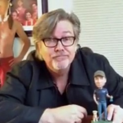Chuck and Bobblehead Mike - large