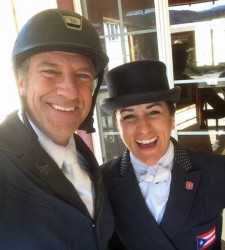 Mike Rowe - Lauren Billys - Dressage