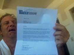 Mike Rowe - The Daily Show Rejection