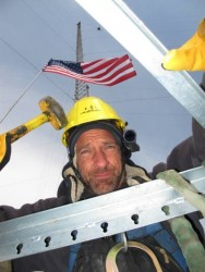 Mike Rowe Top Tower Hand