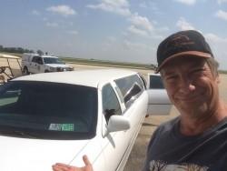 Mike Rowe - Farm Progress Show limo