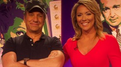 mike-rowe-and-brooke-baldwin-The Quiz Show TV Edition