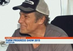 mike rowe - farm progress show 2015