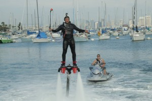 mike rowe - flyboarding