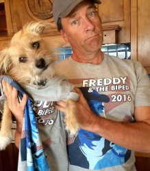 mike rowe freddy t-shirt