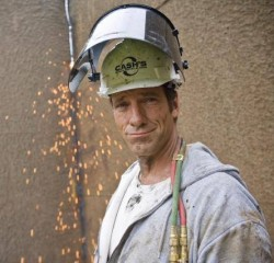 Mike Rowe - Dirty Jobs - Barge Dismantler