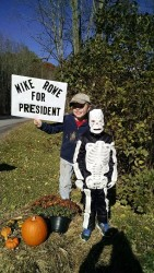 Mike Rowe for President Halloween Costume