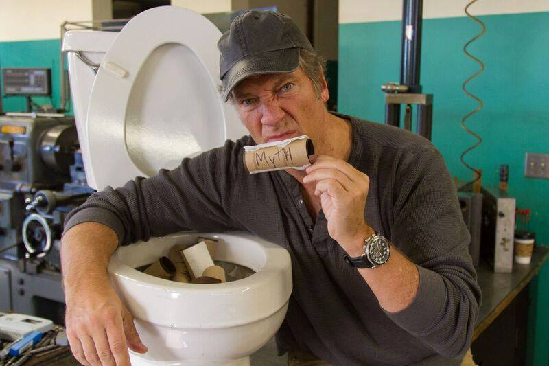 Mike Rowe, Toilet, Myth