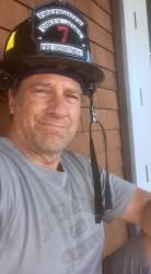 Mike Rowe - Dirty Jobs - Fire Helmet