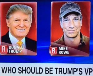 Donald Trump Mike Rowe