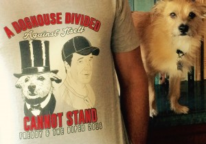 Mike Rowe Freddy - Doghouse Divided t-shirt