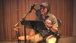 mike rowe - vo booth