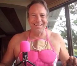 Mike Rowe - CRAP - Pink Apron