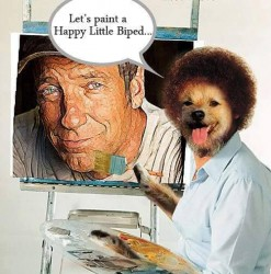 FWF - Lets Paint a Happy Little Biped