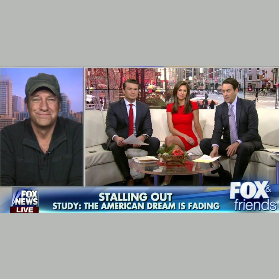 Fox and Friends - Mike Rowe