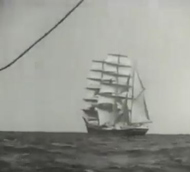 Clip of Clipper thundering around Cape Horn