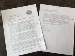 Obama - Trump Letter