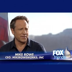 Mike Rowe on Fox and Friends