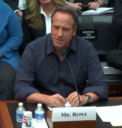 mike rowe testifying before congress