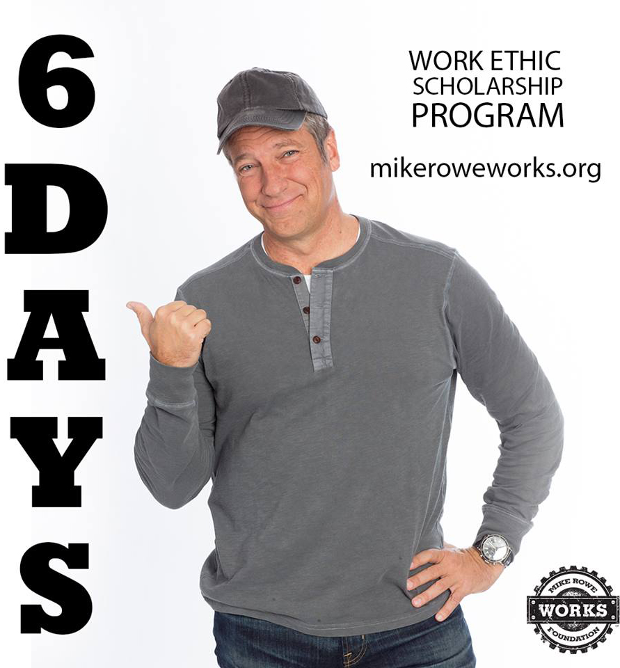 mike rowe work ethic scholarship