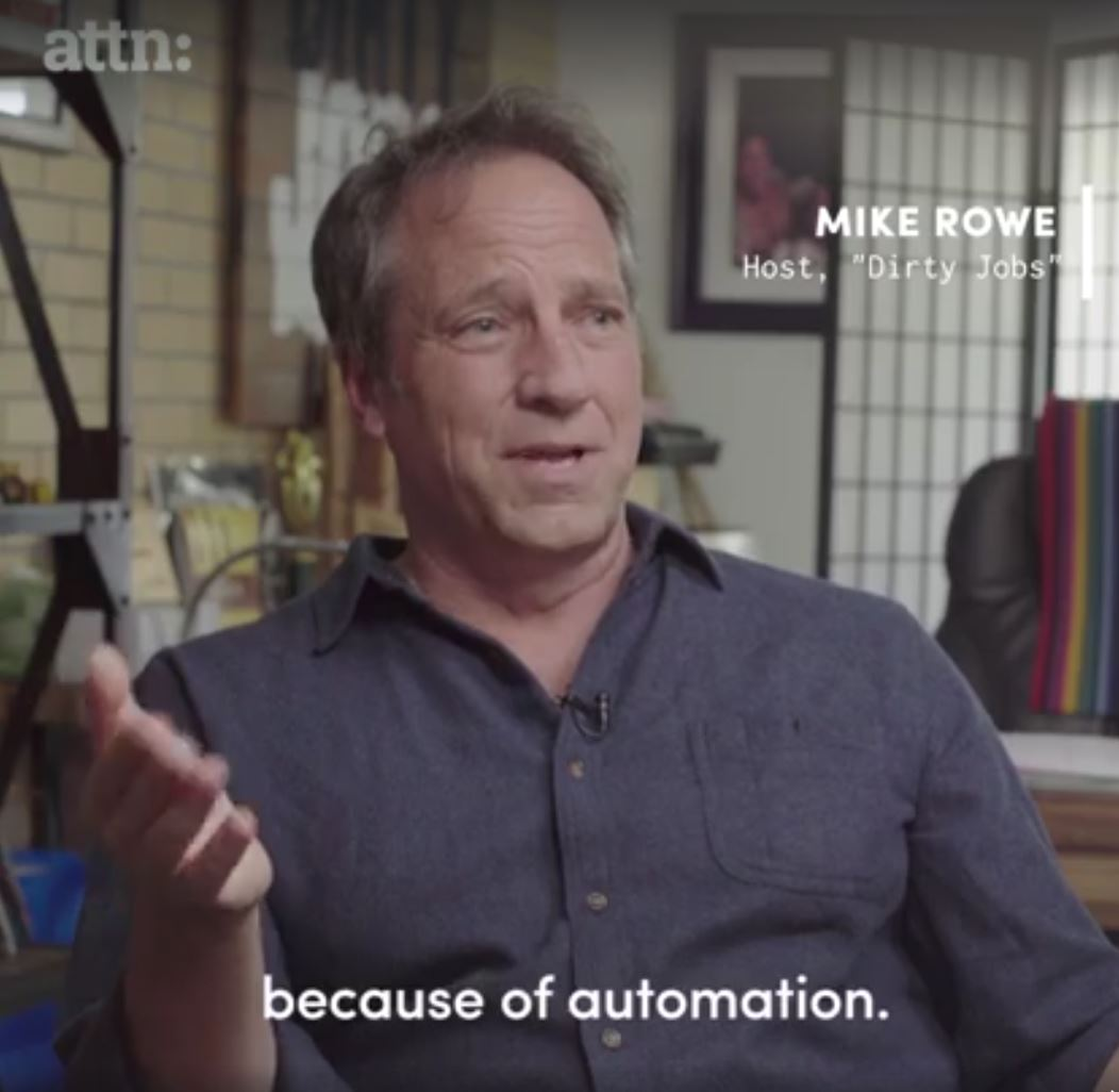 Mike Rowe - ATTN video Automation