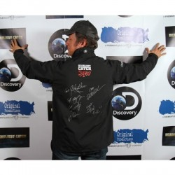 Mike Rowe Deadliest Catch Signed Jacket to Benefit the FB Destination Families