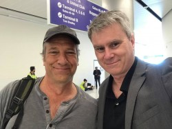 Mike Rowe and Bill Whittle at LAX