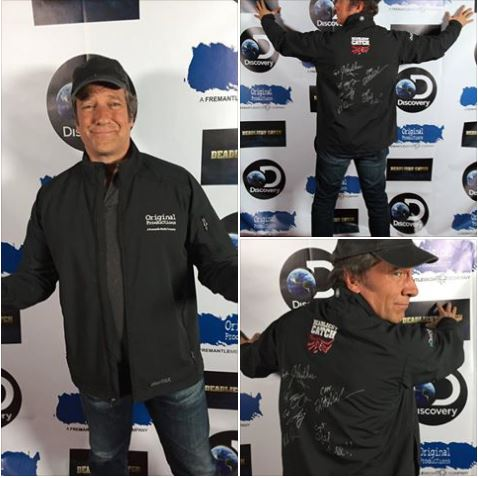 Season 13 Premiere of DC - Mike Rowe
