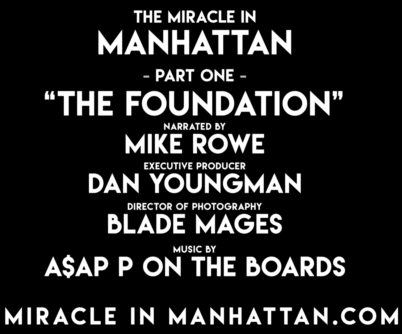 The Miracle in Manhattan