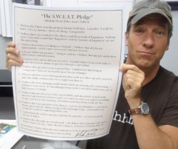 Mike Rowe - S.W.E.A.T. Pledge