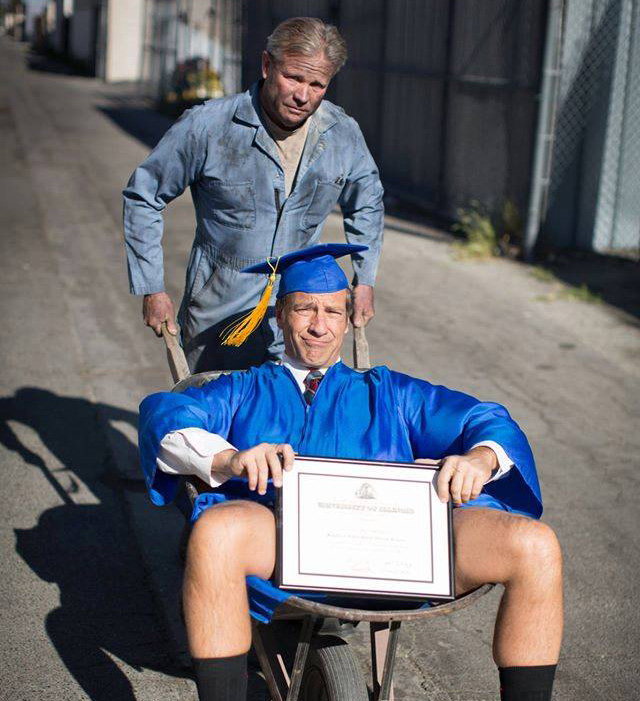 Mike Rowe - Dirty Commencement Photo