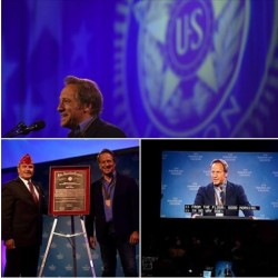 American Legion Nat. Commander's Media and Communications Award - Mike Rowe