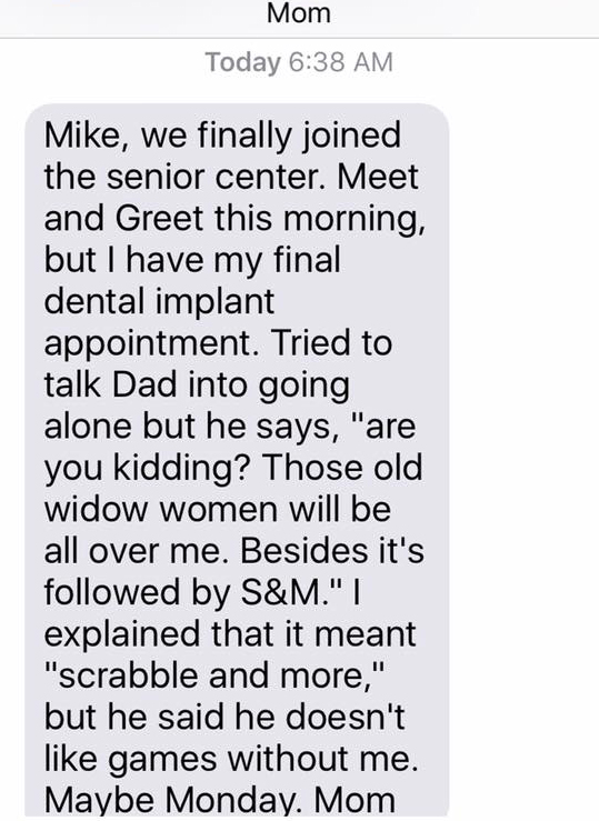 Texts from Mother - S&M
