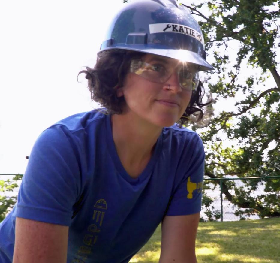 Katie Hughes - RTF Girls Build