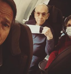 Flying to Chicago with the Parents